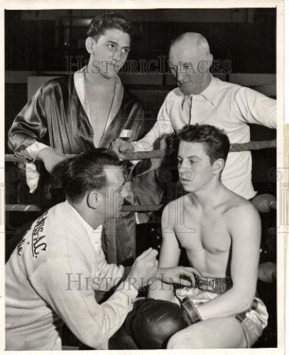 1949 Press Photo Bill Curro middleweight champion - Historic Images