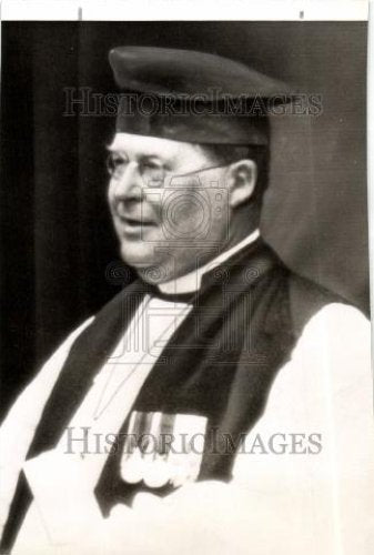 1942 Press Photo William Temple Archbishop - Historic Images