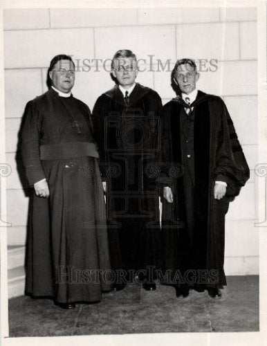 1935 Press Photo Rev. William Temple was a priest - Historic Images