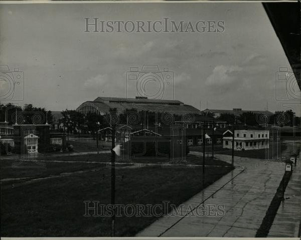 1933 Press Photo Michigan State Fairgrounds - Historic Images