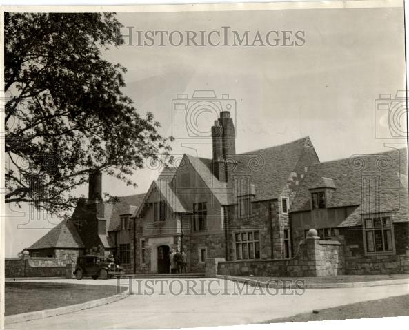 1929 Press Photo Methodist Childrens Home Detroit - Historic Images