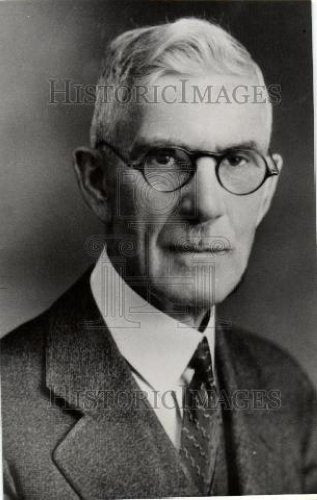 1934 Press Photo Dr. F.E. Townsend Plan of Old Age - Historic Images