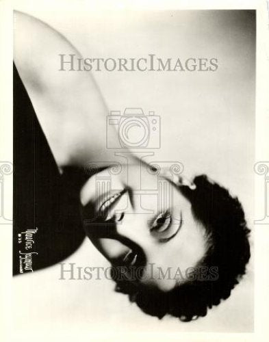 1936 Press Photo Tamara Toumanova Actress - Historic Images