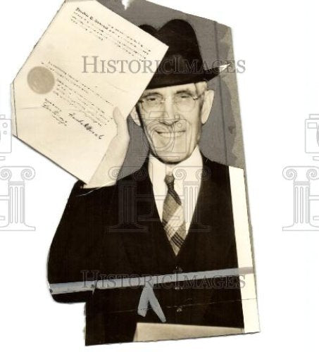 1938 Press Photo Francis Townsend  American physician - Historic Images