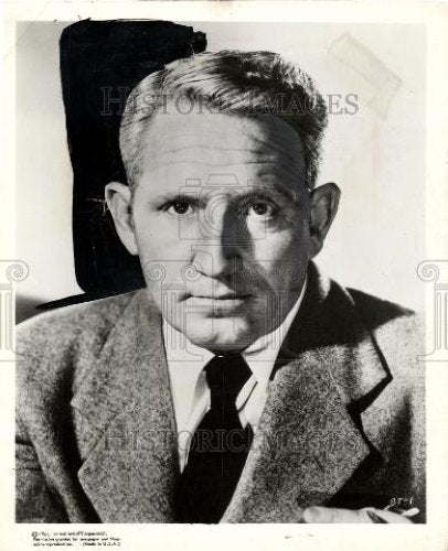 1961 Press Photo SPENCER TRACY NORTHWEST PASSAGE - Historic Images