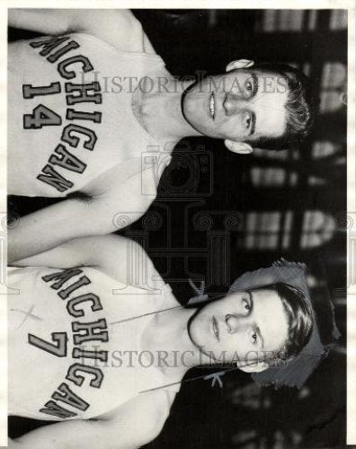 1935 Press Photo Earl & John Townsend - Historic Images