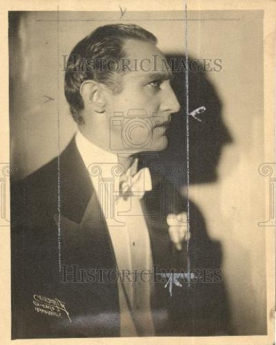 1928 Press Photo Lou Tellegen early theatre actors - Historic Images
