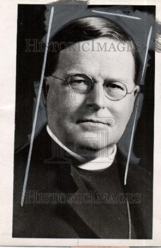 1936 Press Photo Dr. William Temple Archbishop of York - Historic Images