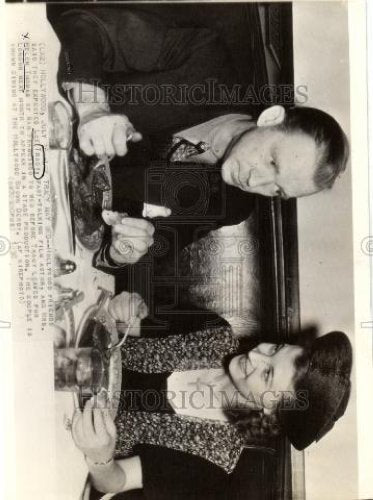 1938 Press Photo Lee Tracy Helen Thomas Hollywood - Historic Images