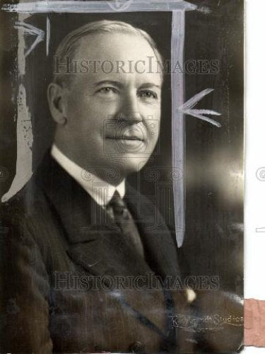1928 Press Photo Walter B. Brady Representative Detroit - Historic Images