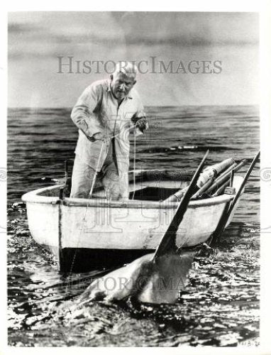 Press Photo Spencer Tracy  The Old Man And The Sea - Historic Images