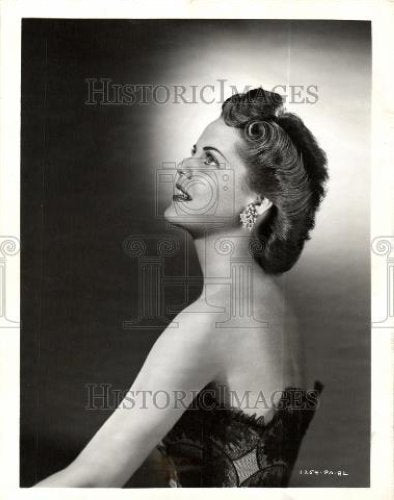 1945 Press Photo Ruth Terry Rep Pictures Singing Star - Historic Images
