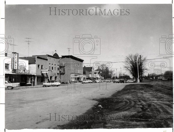 Press Photo Menominee, Michigan - Historic Images