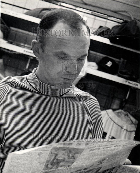 1971 Press Photo Dick Tracewski Baseball Player - Historic Images