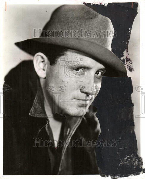 1956 Press Photo Spencer Tracy American actor film - Historic Images