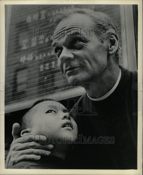 1962 Press Photo James Daly James Walsh Father - Historic Images