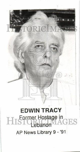 1991 Press Photo EDWIN TRACY - Historic Images