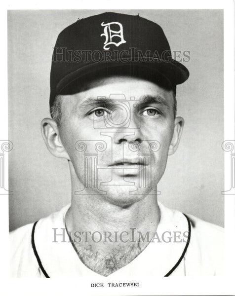 1970 Press Photo Dick Tracewski Baseball player coach - Historic Images