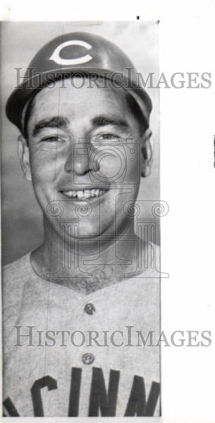 1959 Press Photo JOHNNY TEMPLE second baseman - Historic Images