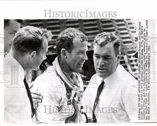 1963 Press Photo Astronaut Gordon Gordo Cooper Mercury - Historic Images