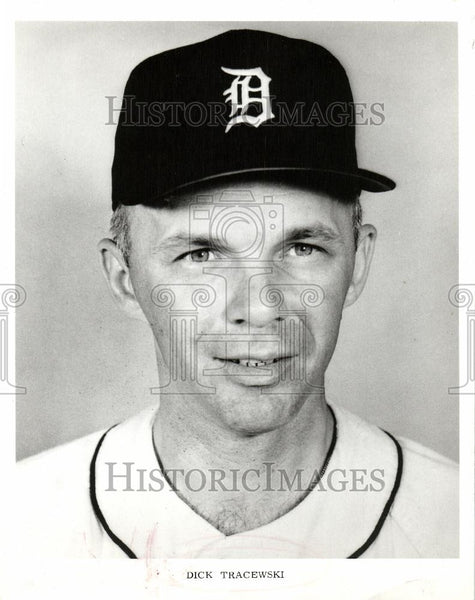 1970 Press Photo Dick Tracewski Baseball player - Historic Images
