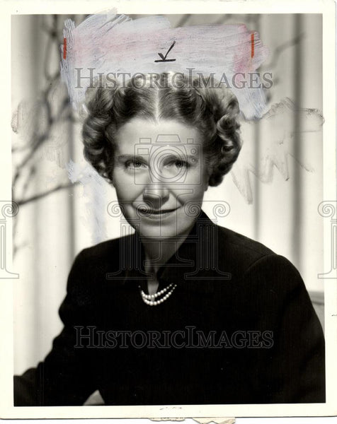 1952 Press Photo Mrs Spurch Tracy - Historic Images