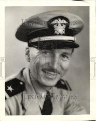 1944 Press Photo Ensign Bob Jowens - Historic Images