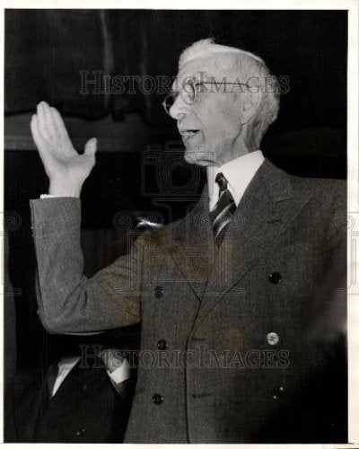 1940 Press Photo Doctor Francis Johnson Cardiology - Historic Images