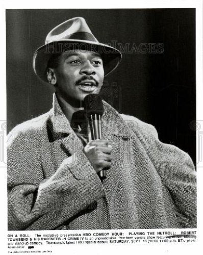 1989 Press Photo ROBERT TOWNSEND - Historic Images