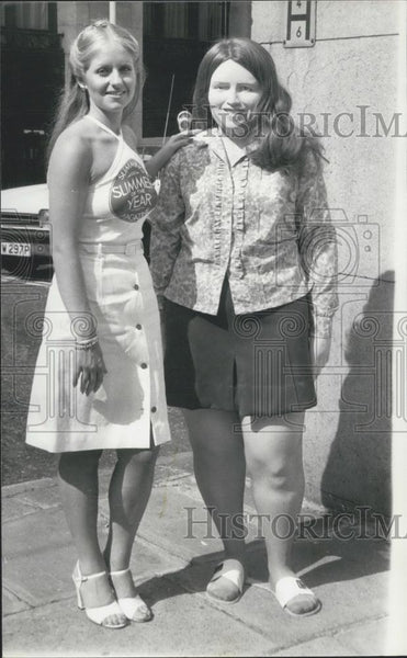 Press Photo Slimmer of the Year 1976,Gail Ingham lost 7 stone - Historic Images