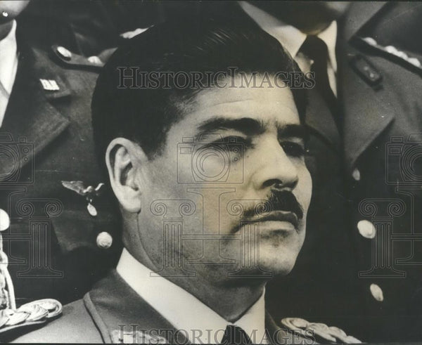 1970 Press Photo Colonel Juan Jose Torres,Bolivian Chief of State - Historic Images