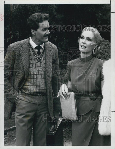 1982 Press Photo Barbara Eden and Rod McCary in Harper Valley - XXB00909 - Historic Images