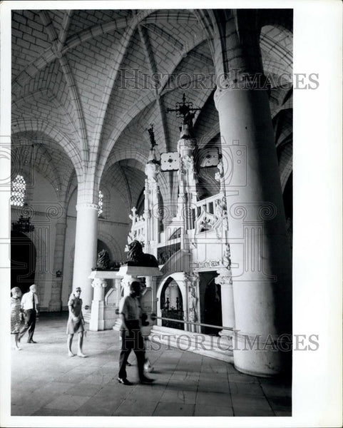 Press Photo Christopher Columbus tomb in Santo Domingo, Dominican Republic - Historic Images