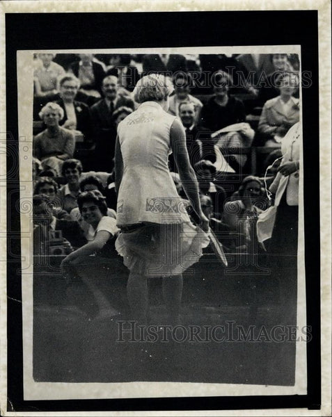 1958 Press Photo Tennis - Historic Images