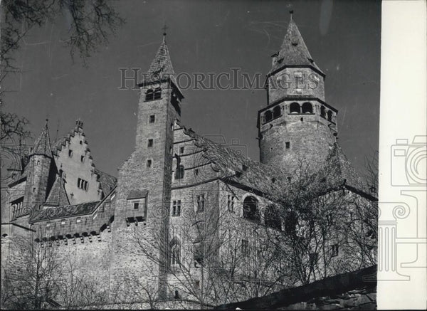 1957 Press Photo Bouzov Castle, Moravia - Historic Images