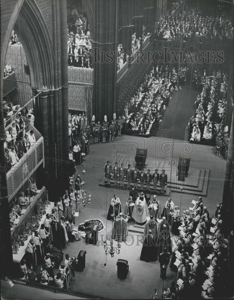 1937 Press Photo Coronation King George VI: Photo Shows The scene in Westminster - Historic Images