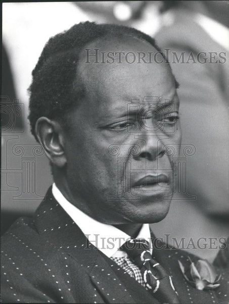 Press Photo Kenyan Attorney General,Charles Njojo - Historic Images