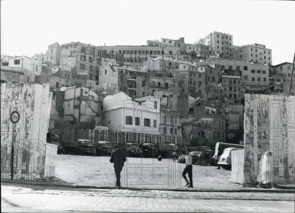Press Photo City buildings in Algeria - Historic Images