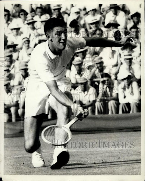 1959 Press Photo Davis Cup Barry MacKay of the U.S.A - Historic Images