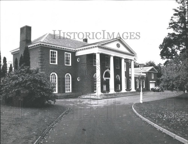 1976 Press Photo Conservative MP Sally Openheimer Sells Her Home - Historic Images