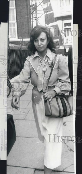 1978 Press Photo Mrs Kitty Milinaire Daughter-In-Law Of Duchess - Historic Images