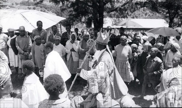 Press Photo Archbishop of Nairobi, Maurice Otunga - Historic Images