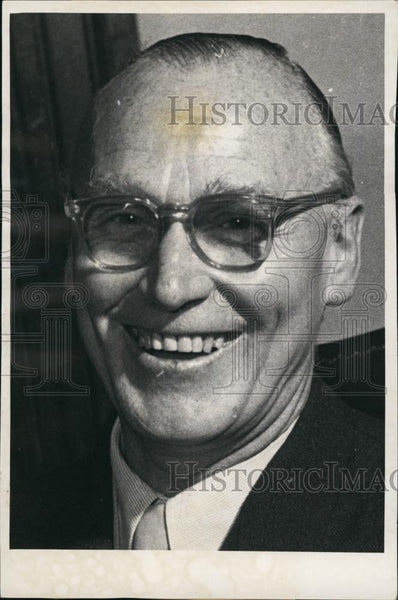 1955 Press Photo German Politician Dr. Westrick. - Historic Images