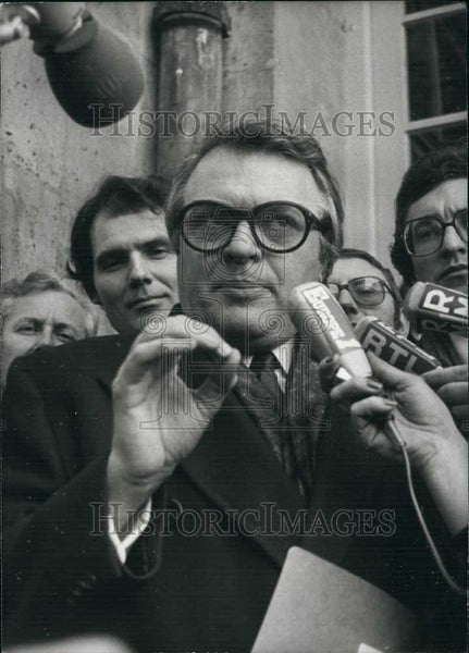 1979 Press Photo Mr Pierre Mauroy, President of french socialists - Historic Images