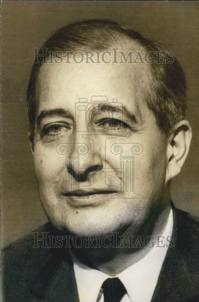 1974 Press Photo Mr Francois Rollier,of Peugeot-Citroen auto company - Historic Images
