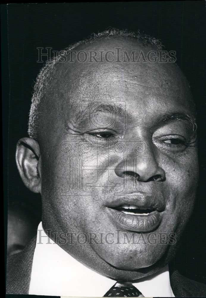 Press Photo Mr Philibert Terinana, President of Malagasy - Historic Images