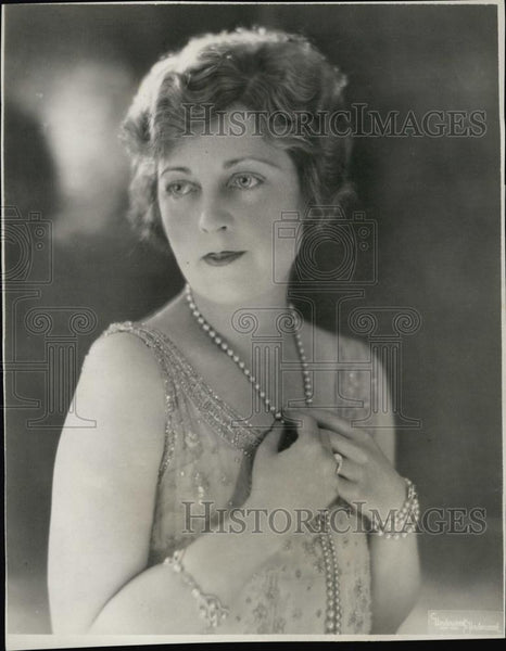 1929 Press Photo Broadway Actress, Singer Julia Sanderson - RSL51383 - Historic Images