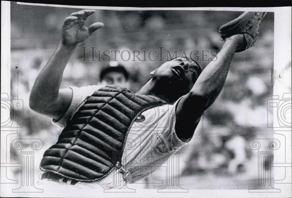1962 Press Photo Twins Catcher Earl Battey - RSL54349 - Historic Images