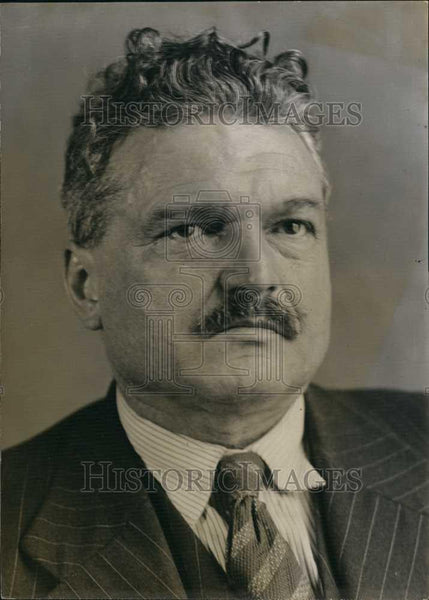 1970 Press Photo Jean Renaud, Frenchj deputy - Historic Images
