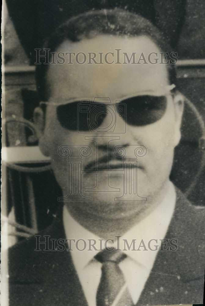 1962 Press Photo Commandant Si Slimane of Algeria, Africa - Historic Images